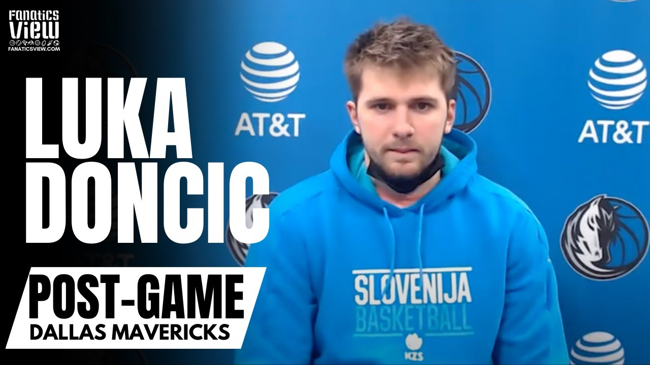Luka Doncic Reacts to Kristaps Porzingis Return to Dallas & His Improved Defensive Play