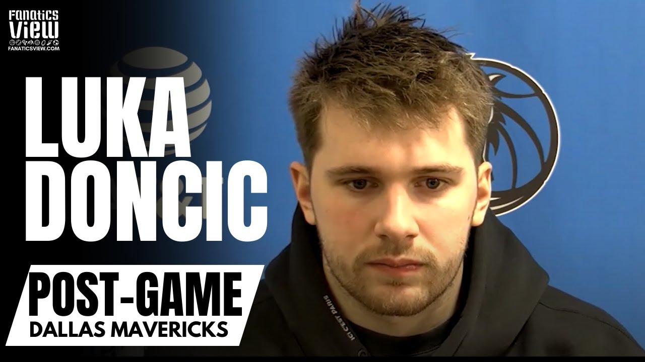 Luka Doncic Reacts to Mavs Snapping 6 Game Losing Streak vs. ATL: