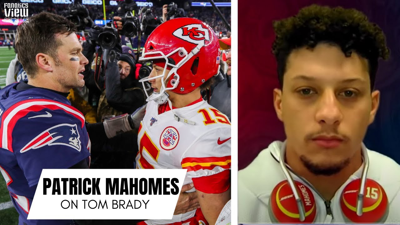 Patrick Mahomes Shares His Thoughts on Tom Brady & Reacts to Already Being Called