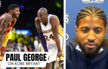 """Paul George Remembers Playing Kobe Bryant for First Time: """"Best Moment of My Basketball Life"""""""