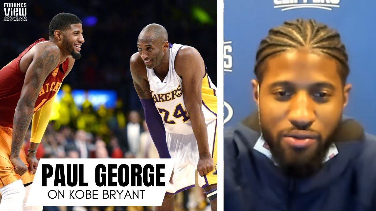 Paul George Remembers Playing Kobe Bryant for First Time: