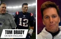"""Tom Brady Explains Being """"Grateful"""" for Bill Belichick & Reflects on His Improbable NFL Journey"""