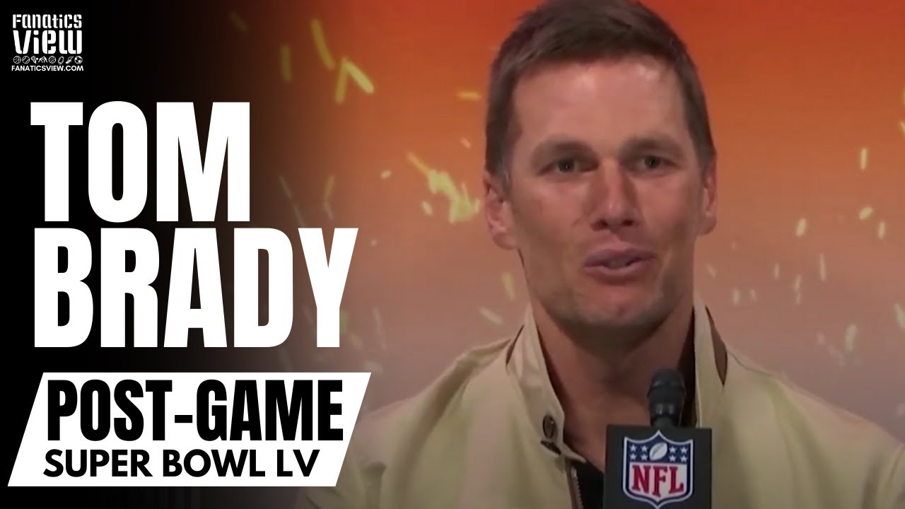 Tom Brady Reacts to Winning 7 Super Bowls, Antonio Brown & Rob Gronkowski Scoring TD's