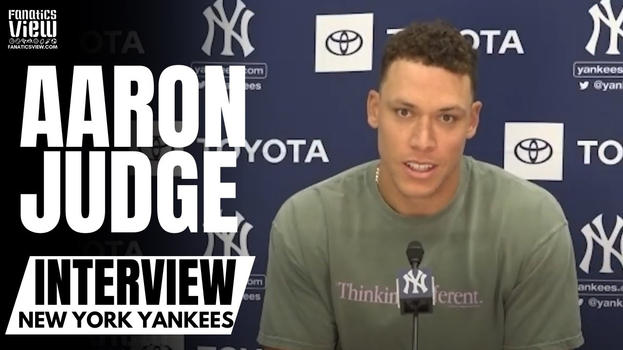Aaron Judge Details Gary Sanchez Bounce Back: