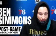 """Ben Simmons Reveals """"Scary"""" Mental Shift to Career Night & """"Disrespect"""" in Rudy Gobert Guarding Him"""