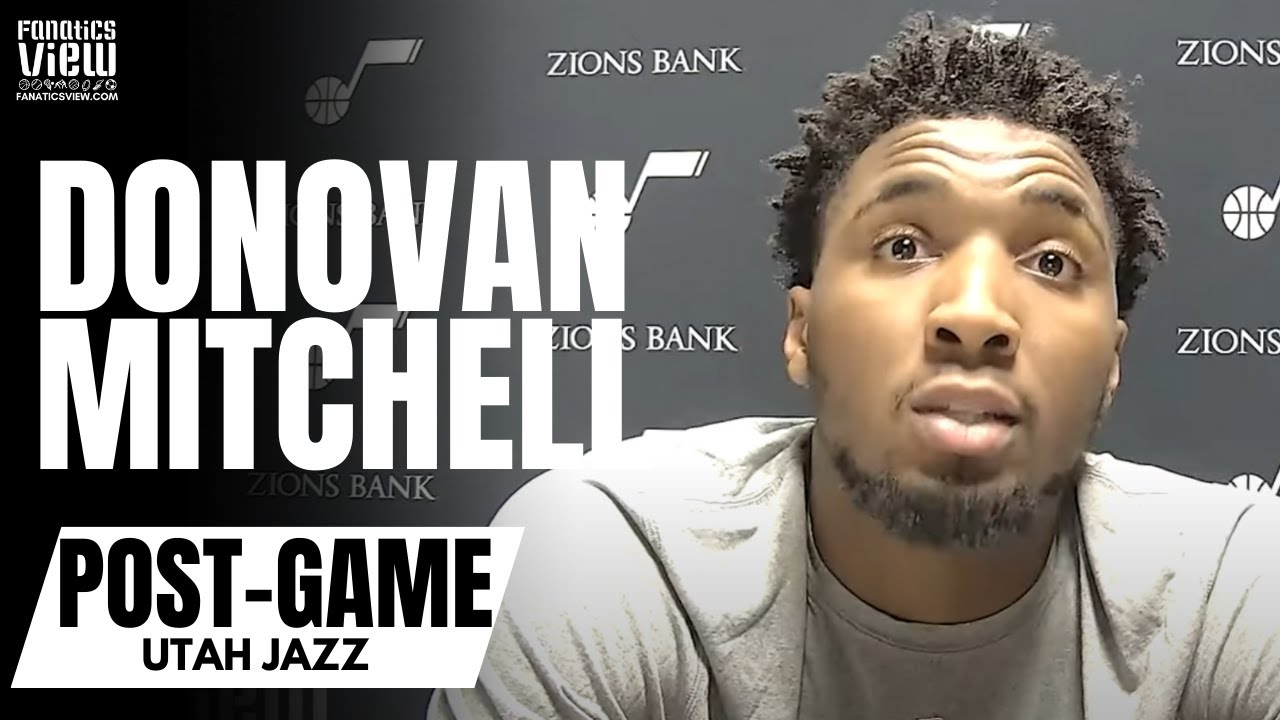 Donovan Mitchell Sounds Off on NBA Officials After Ejection vs. 76ers: