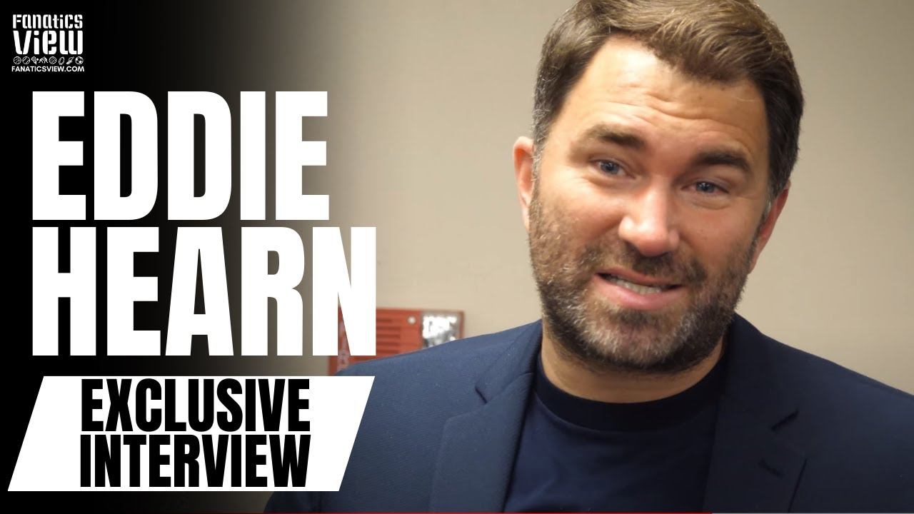 Eddie Hearn Reacts to the Passing of Marvin Hagler: