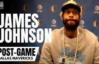 "James Johnson on Luka Donic Growing as a Leader & ""Humbling"" Losses Helping Mavs"