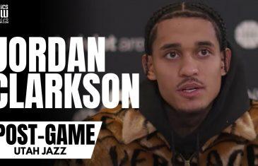 "Jordan Clarkson Reacts to Joe Ingles ""Never Played With Anyone Like Him"" Praise"