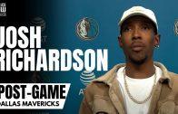 Josh Richardson talks Comfort Level With Dallas Mavs, Guarding JA Morant & Mavs Confidence in Him