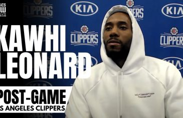 """Kawhi Leonard on Luka Donic: """"It's Hard To Turn Off The Water, Once a Great Player Gets Rolling"""""""