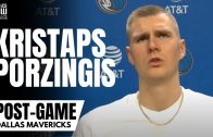 Kristaps Porzingis Reviews Dallas Mavs 1st Half of the NBA Season & Catching a Rhythm for 2nd Half