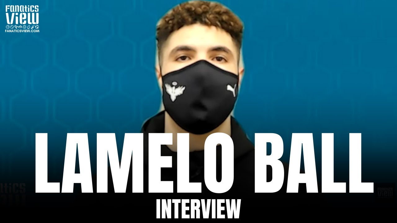 LaMelo Ball on Playing Luka Doncic for First Time & His Experience as an NBA Rookie