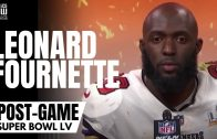 """Leonard Fournette on Tom Brady Being the GOAT: """"I Can Tell My Kids I Played With Him"""""""