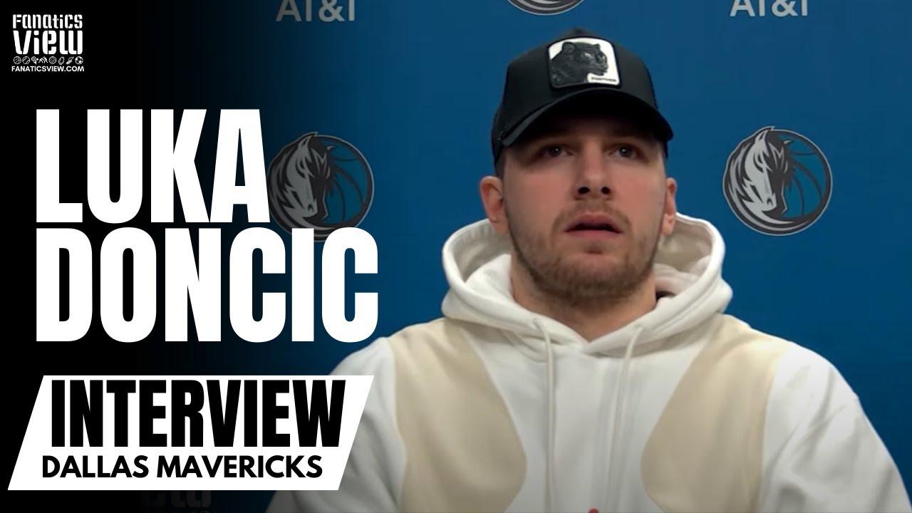 Luka Doncic on Becoming 2021 NBA All-Star Starter: