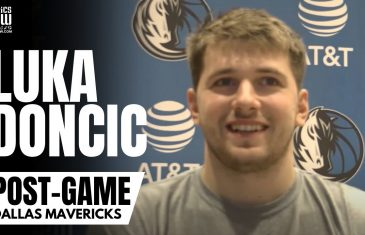 """Luka Doncic on Willie Cauley-Stein Contributions, """"A Pleasure to Play for Dallas"""" & Triple Double"""