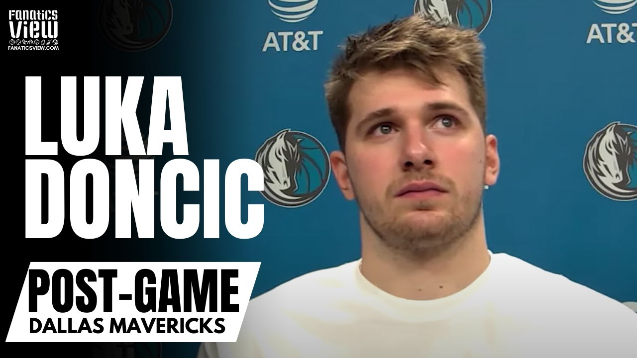 Luka Doncic Reacts to Epic Step Back 3-Pointers to Give Dallas Mavs a Win vs. Boston Celtics