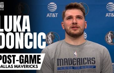 """Luka Doncic talks """"Playoff Games"""" vs. Los Angeles Clippers & Praises Dallas Mavs Fans After Win"""