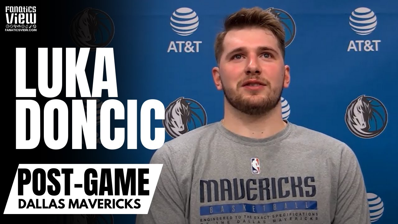 Luka Doncic talks