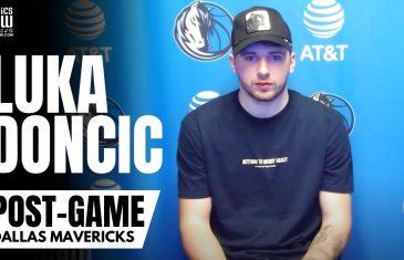 Luka Doncic talks Rick Carlisle Relationship, Playing for Mark Cuban & NBA Championship Goal
