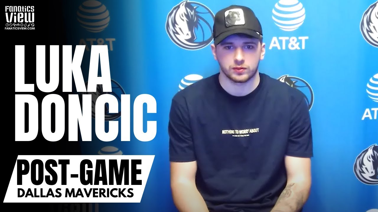 Luka Doncic talks Rick Carlisle Relationship, Playing for Mark Cuban & NBA Championship Goal