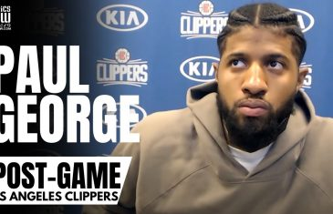 """Paul George talks Strategy vs. Luka Doncic, """"Insane"""" No Calls & """"Bunch of Lies"""" From Officials"""
