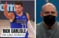 """Rick Carlisle on Luka Doncic Ascension to NBA Stardom & 2nd All-Star Game: """"He Captured The World"""""""