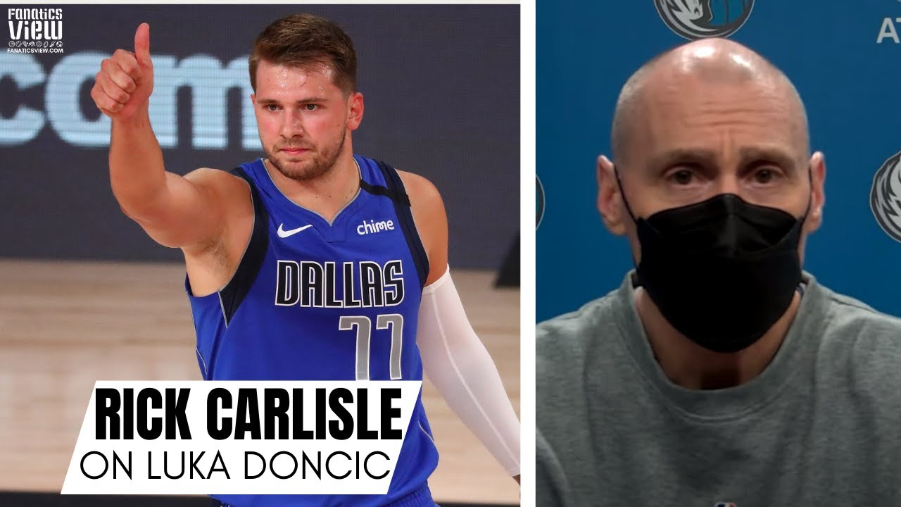 Rick Carlisle on Luka Doncic Ascension to NBA Stardom & 2nd All-Star Game: