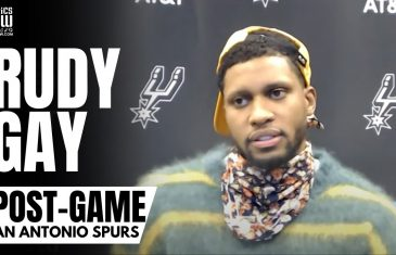 """Rudy Gay on LaMarcus Aldridge & San Antonio Spurs Parting Ways: """"You Can't Forget What He's Done"""""""