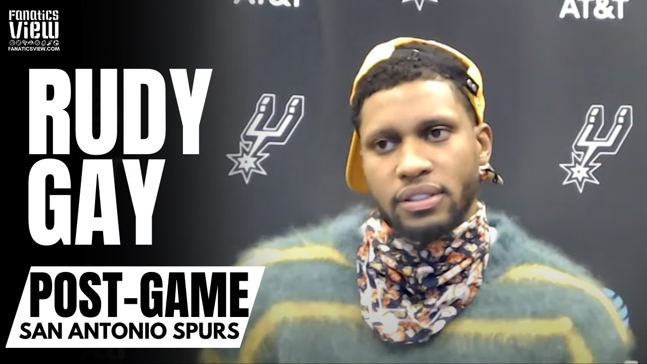 Rudy Gay on LaMarcus Aldridge & San Antonio Spurs Parting Ways: