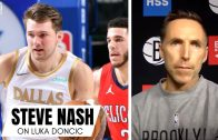 "Steve Nash on Seeing Himself in Luka Doncic: ""If I Was 6'8"" & 230 Pounds"" & Luka Historically Unique"
