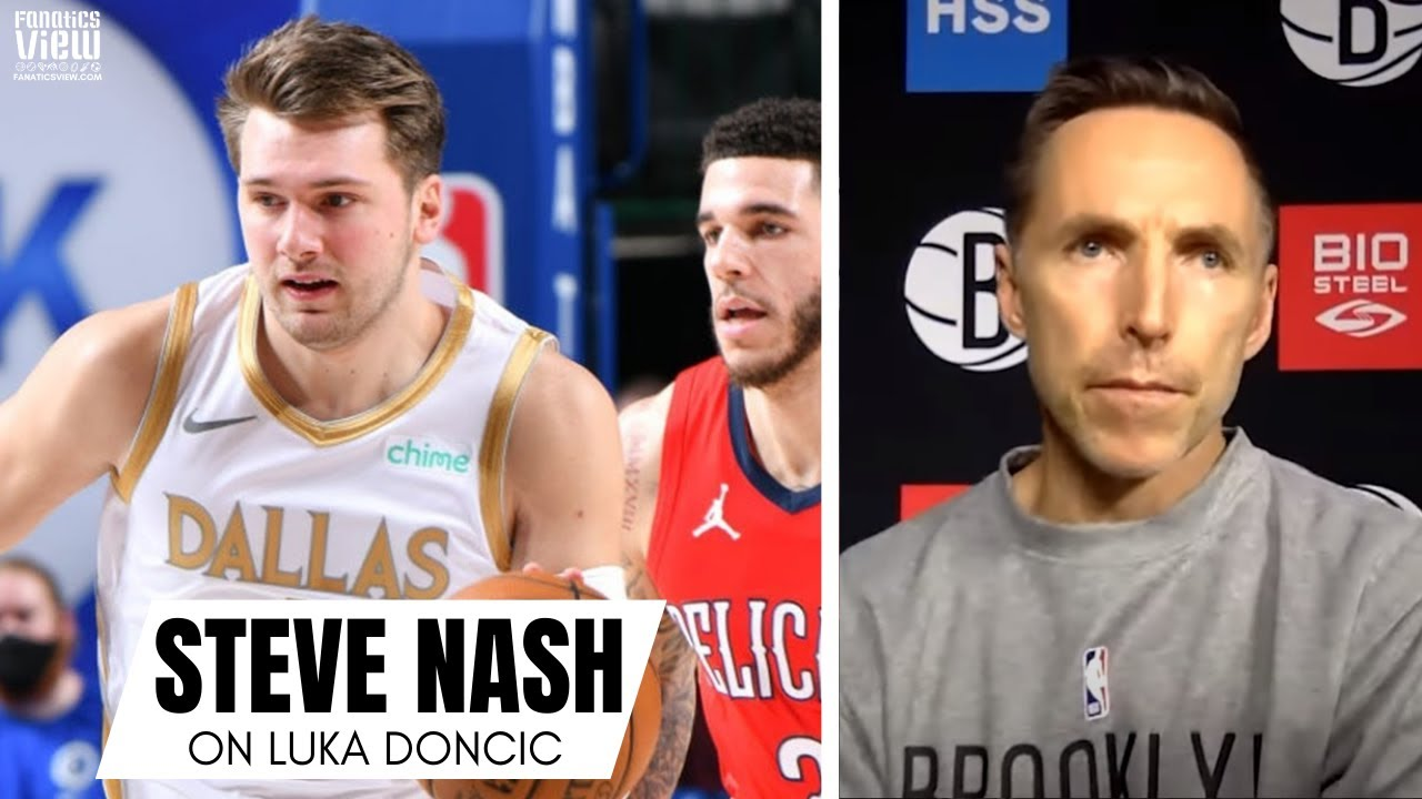 Steve Nash on Seeing Himself in Luka Doncic: