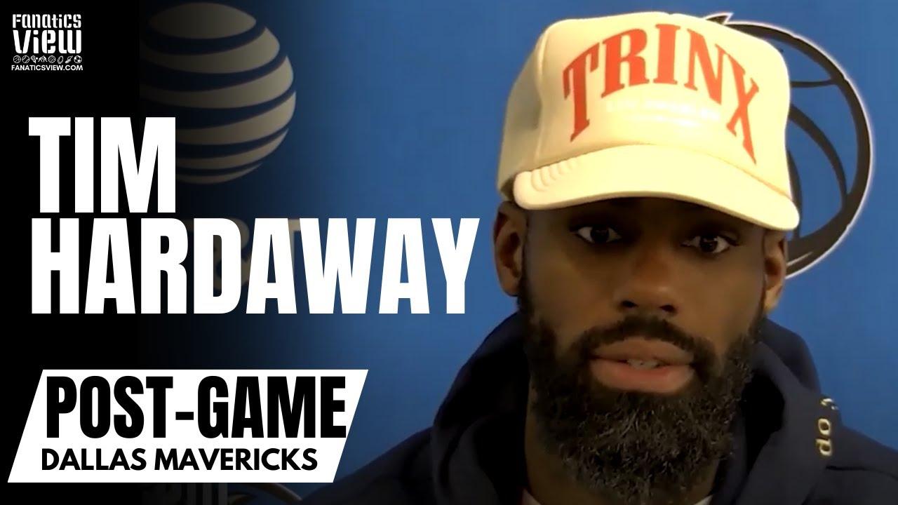 Tim Hardaway Jr. on Mavs Overcoming Losing Streak &