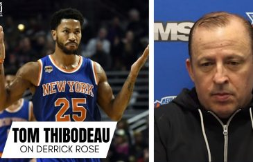"""Tom Thibodeau Reflects on Derrick Rose's Career: """"I Wouldn't Be In My Position Today Without Him"""""""