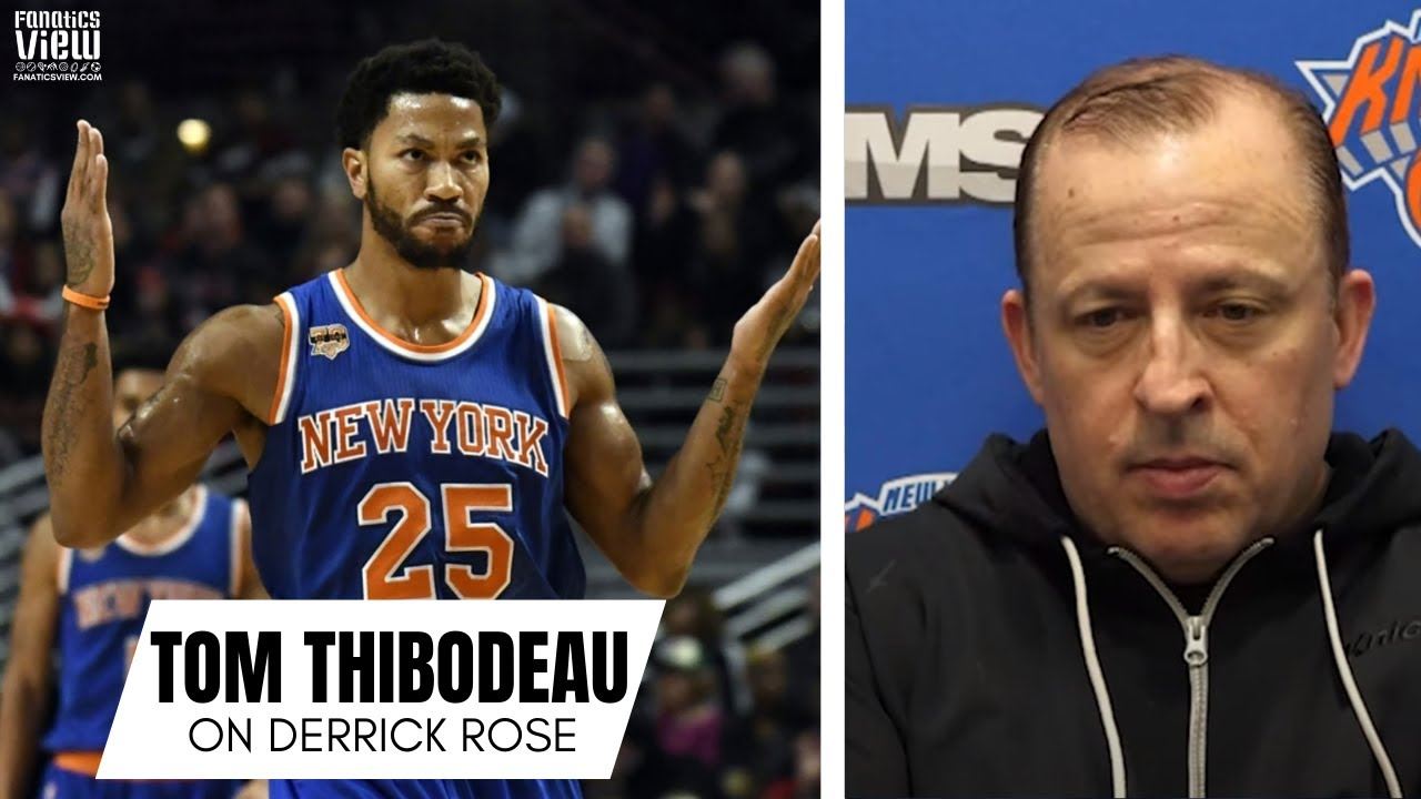 Tom Thibodeau Reflects on Derrick Rose's Career: