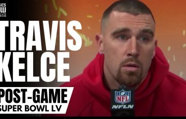 """Travis Kelce Reacts to Chiefs Super Bowl LV Loss Penalties: """"Just Be Better. No Excuses"""""""