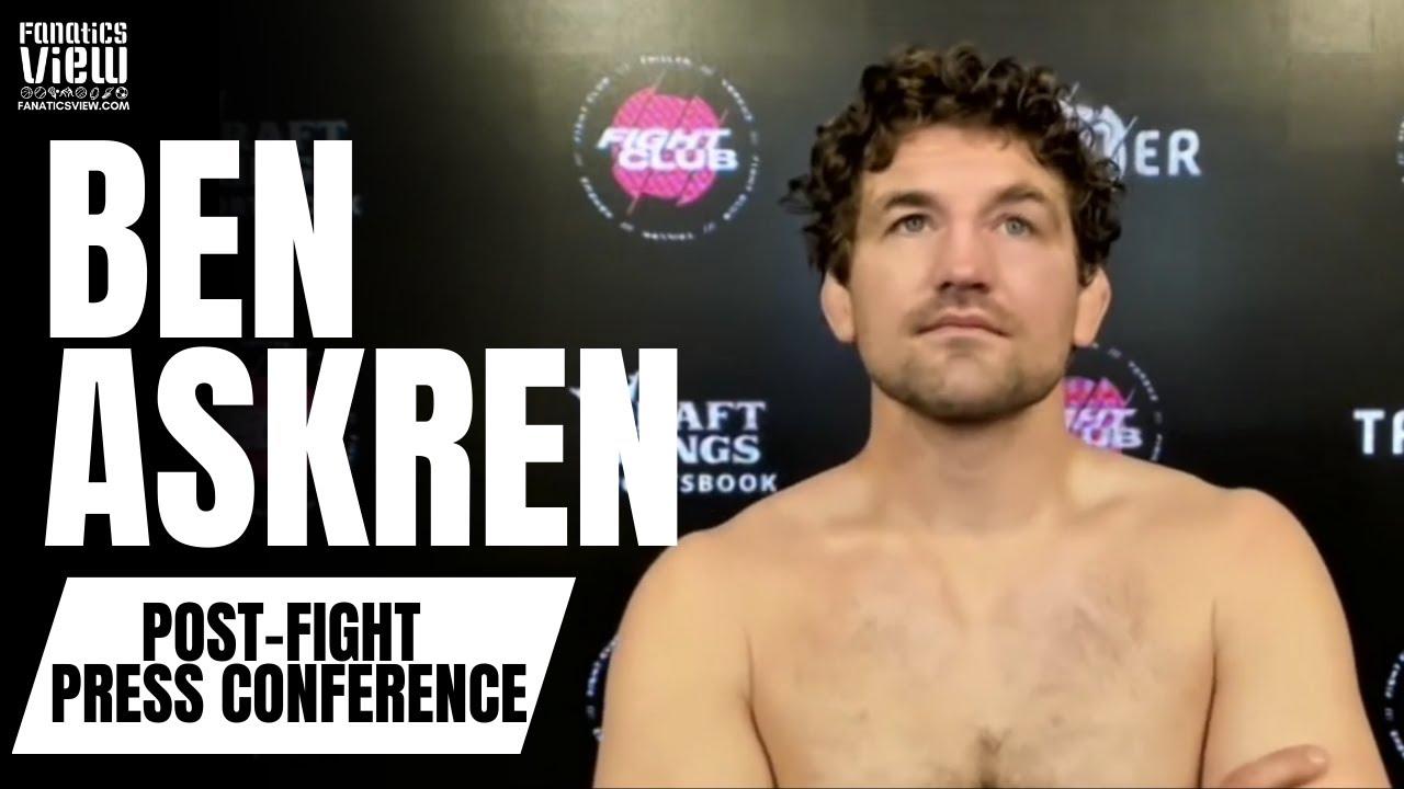 Ben Askren Reacts to Jake Paul Knockout: