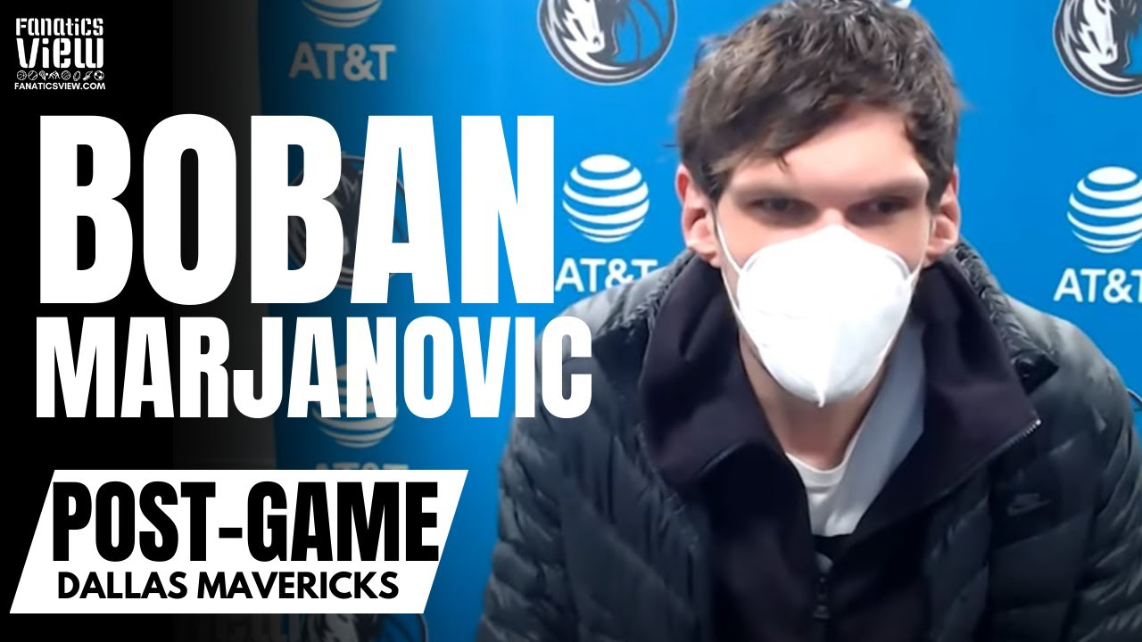 Boban Marjanovic Reacts to Kristaps Porzingis Return to Mavs & Talks Playing With Luka Doncic