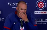 """David Ross on Willson Contreras Getting Hit Twice by Brewers: """"It's Scary. You Have to Be Better"""""""