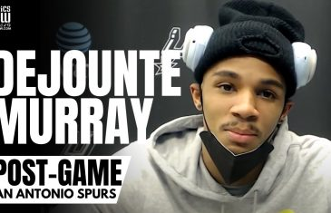 "Dejounte Murray on DeMar DeRozan ""Take That S***"" Dagger & Defending Luka Doncic ""We Got The Win"""