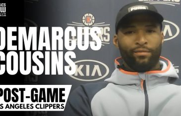 """DeMarcus Cousins on Paul George Respect: """"Stop The PG Slander, One of the Most Gifted Players…"""""""