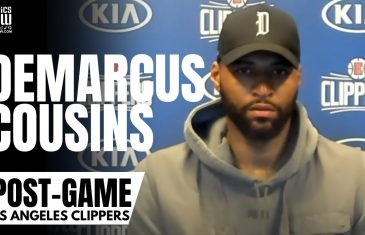 """DeMarcus Cousins Reacts to Signing With LA Clippers & """"I'm In The Best Shape of My Entire Career"""""""