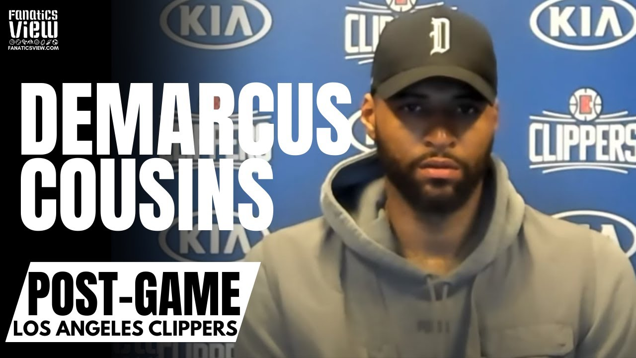 DeMarcus Cousins Reacts to Signing With LA Clippers &