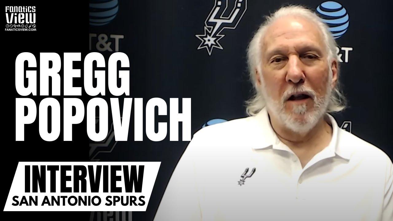Gregg Popovich on His Love for Boban Marjanovic, Max Kleber & USA Basketball Headed Into Olympics