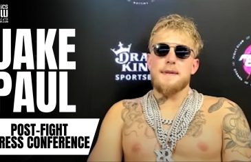 """Jake Paul Reaction to KO Victory vs. Ben Askren: """"I Said This Would Be Easier Than Nate Robinson"""""""