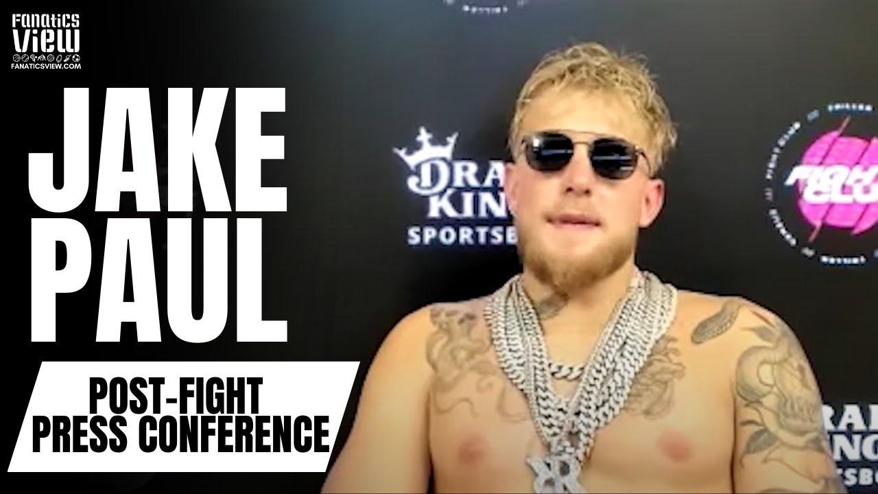 Jake Paul Reaction to KO Victory vs. Ben Askren: