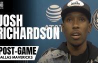 "Josh Richardson RAW: ""I Felt Like I Played Like A*** The Other Day"" & Reacts to Luka 8 Three Balls"