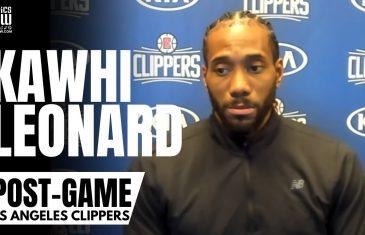 Kawhi Leonard Details What Rajon Rondo Is Bringing to the LA Clippers Team