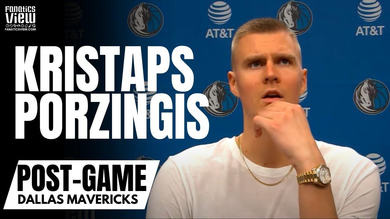 Kristaps Porzingis Reacts to Fouling Out vs. Spurs & DeMar DeRozan's Clutch Game Winning Shot
