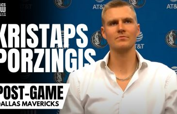 """Kristaps Porzingis Responds to Luka Doncic Chemistry Concerns: """"At The End We All Want to Win"""""""